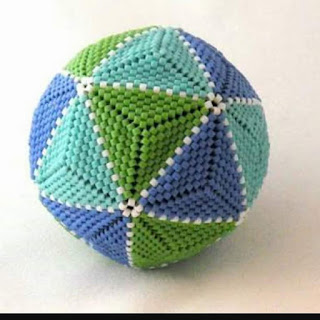 Bead diy 20: Octagonal bead ball