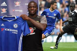 Kante joining Chelsea