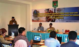 Sekda KLU Harap Program PSD-GSC Tekan Kemiskinan