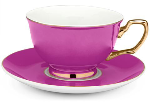 Colorful Signature Tea Cups from Cristina Re