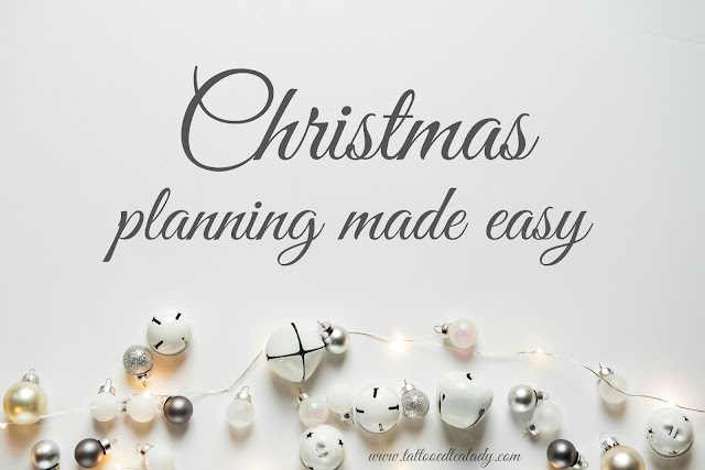 Plan Christmas to make it easy