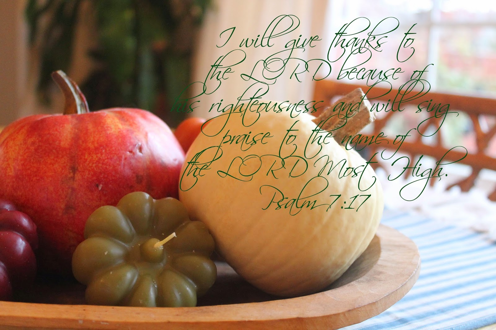 thanksgiving scripture, the altered past blog