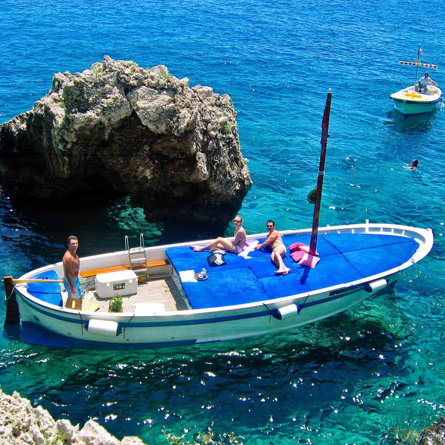For an unforgettable boat tour around Capri, honeymoon destinations in Italy amazingexplore