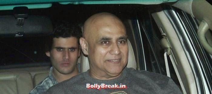 Puneet Issar, Celebs clicked at 'Kick' Special Screening at Yash Raj Studios