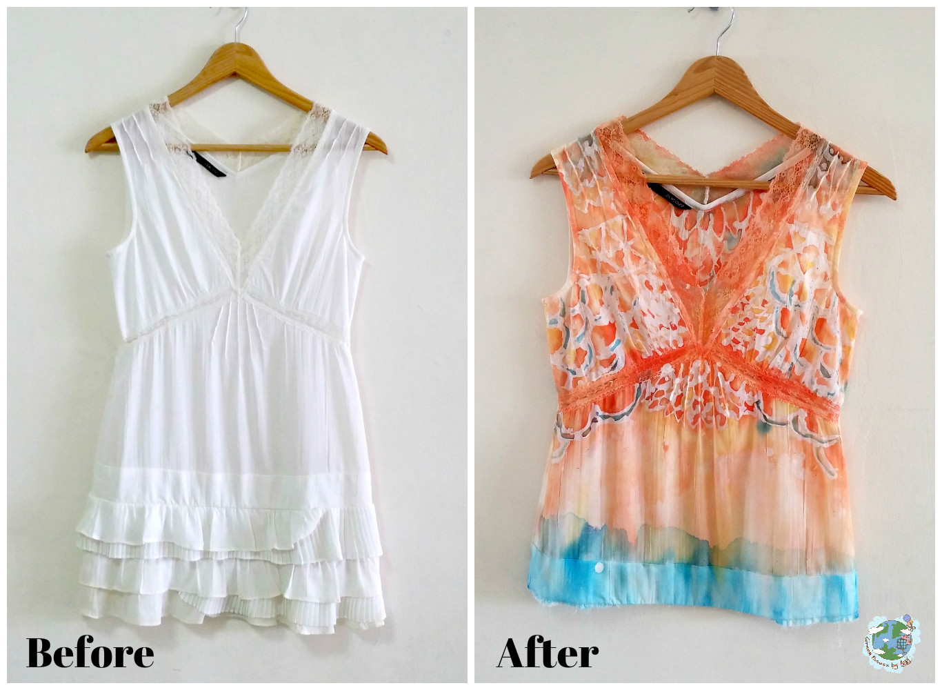 DIY batik upcycling