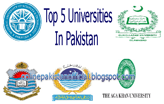 Top 5 Universities In Pakistan