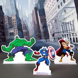 Free printable Avengers Playset