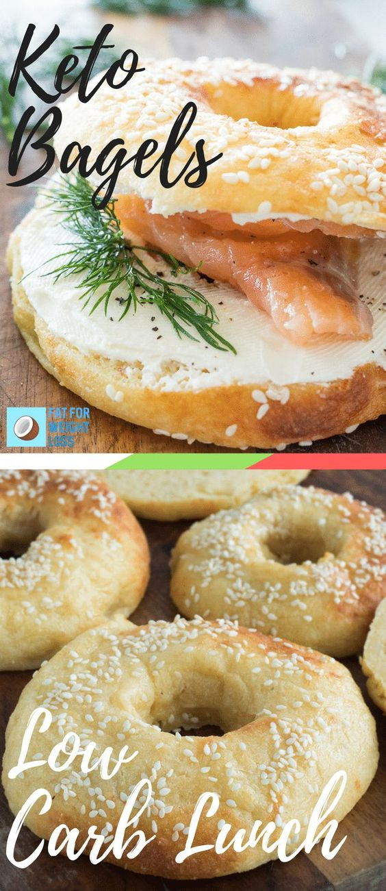 KETO BAGELS – THE BEST KETO LOW CARB FATHEAD DOUGH