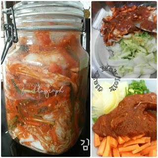 Resep kimchi porsi rumahan