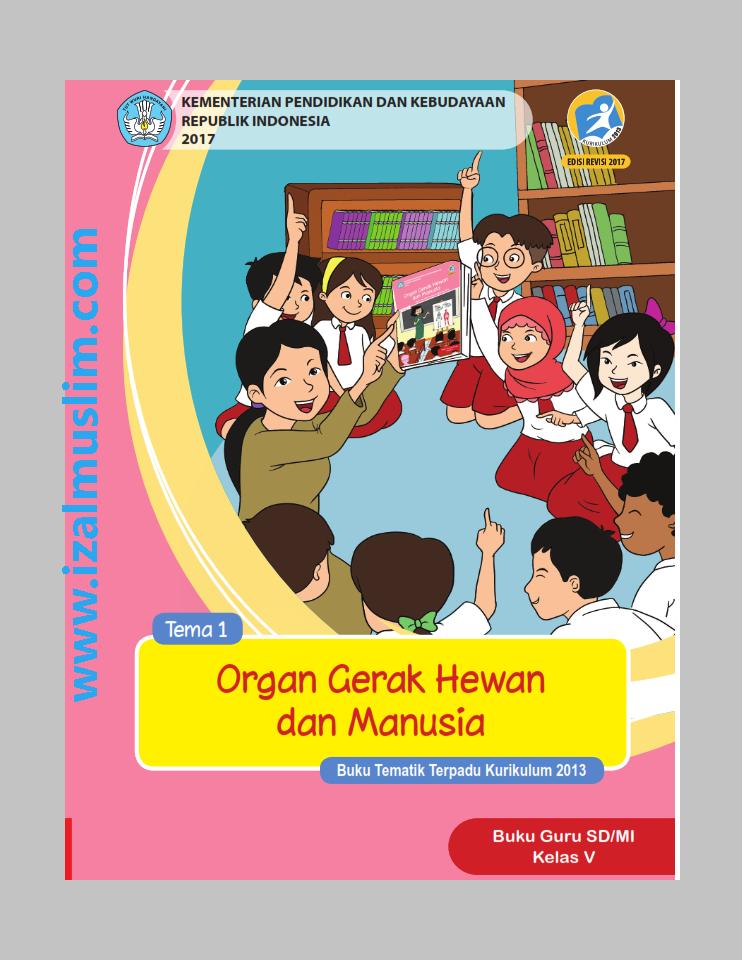 Download Buku Guru Kelas 5 : download, kelas, Siswa, Tematik, Kurikulum, Kelas, Semester, Revisi, Terbaru, Dokumen