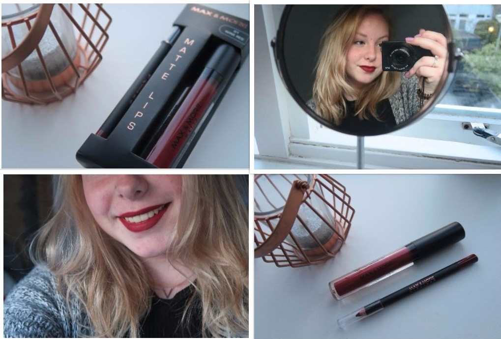 ➵ MAX & MORE MATTE LIPS | REVIEW