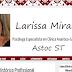 Layout: Psicóloga Larissa Miranda