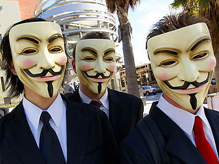 Anonymous hackers planning real-world attacks !