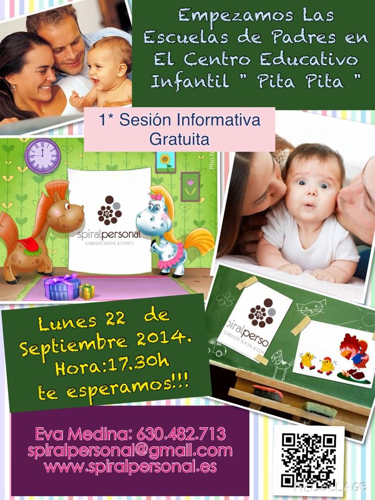 """1º Sesión Informativa  Escuela de Padres en el C.Educativo Infantil """" Pita Pita"""""""