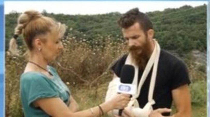 Καστοριά: Έδωσε μάχη σώμα με σώμα με αρκούδα – Τον έσωσαν τα σκυλιά του -βίντεο