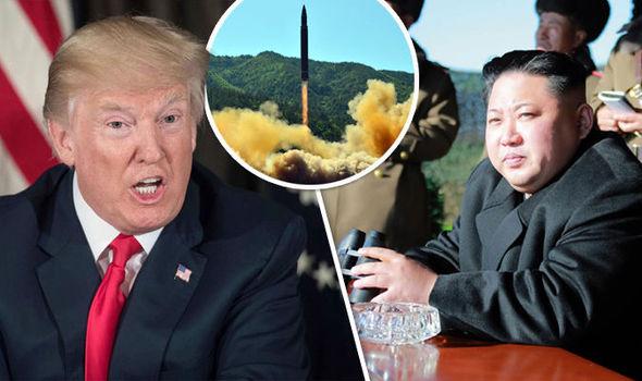 Trump warns 'fire and fury' if N.Korea threatens U.S., Pyongyang weighs Guam strike