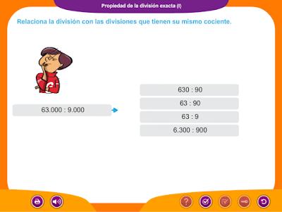 http://www.ceiploreto.es/sugerencias/juegos_educativos_3/7/5_Propiedad_division_exacta_I/index.html