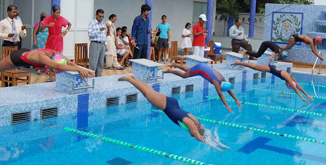 APJ School Sector 15 will be held in Faridabad District Level Swimming Competition from July 29 to 31
