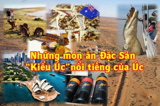 Các món đặc sản nổi tiếng của nước Úc