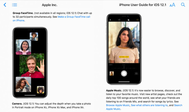 Group FaceTime and other features confirmed as Apple publishes full iOS 12.1 iPhone user guide