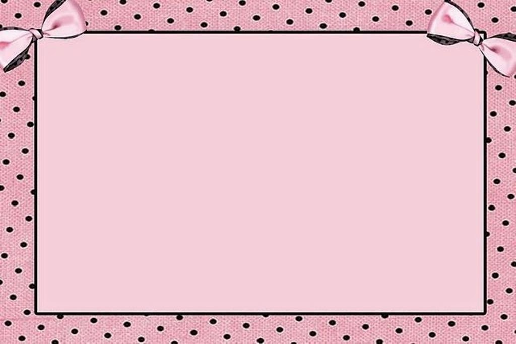 With Pink: Free Printable Invitations, Frames or Labels for Sweet 16 ...