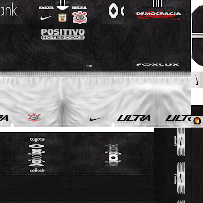 PES 6 Kits SC Corinthians Paulista Season 2018/2019 by WindowOp Kitmaker