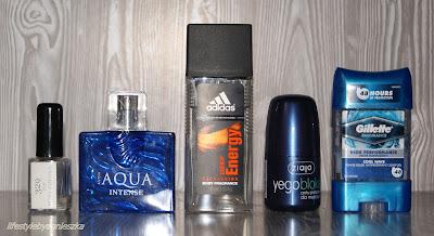 Opróżniamy kosmetyczki naszych panów - zapachy,  perfumy i antyperspiranty