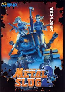 Metal Slug 2+arcade+game+portable+art+flyer