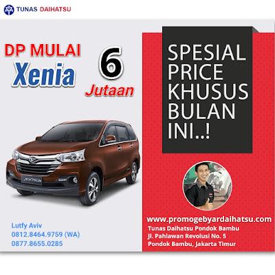 Promo Daihatsu Xenia Spesial Akhir Tahun 2017