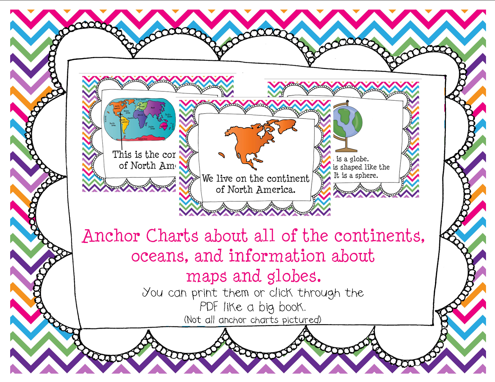 5 Continents Worksheet