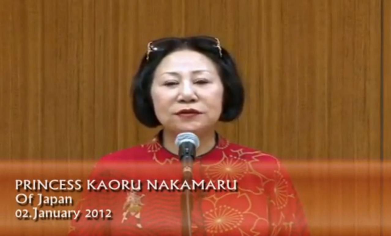 PRINCESA DE JAPON KAORU NAKAMARU SOBRE 2012, 3 dias de oscuridad