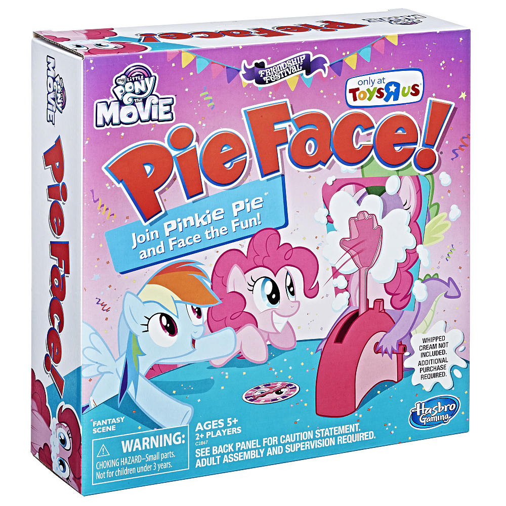 Hasbro Releases Pinkie Pie Edition Pie Face Game | MLP Merch