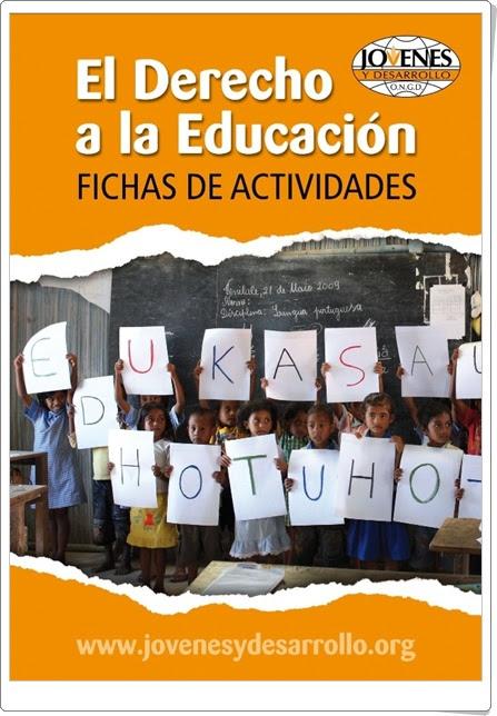 """Día Mundial de la Educación (1 de abril): """"Cuaderno de fichas para Educación Infantil y Primaria)"""
