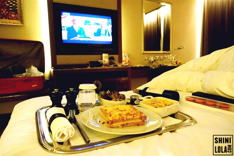 Room service @ Sofitel Macau at Ponte 16