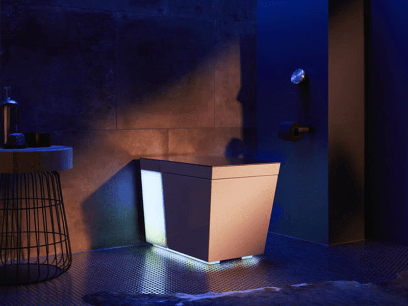CES 2018: Kohler announces Numi 2.0 Intelligent Toilet with Speakers, Alexa, Google Assistant, Bluetooth and Ambient Lighting!