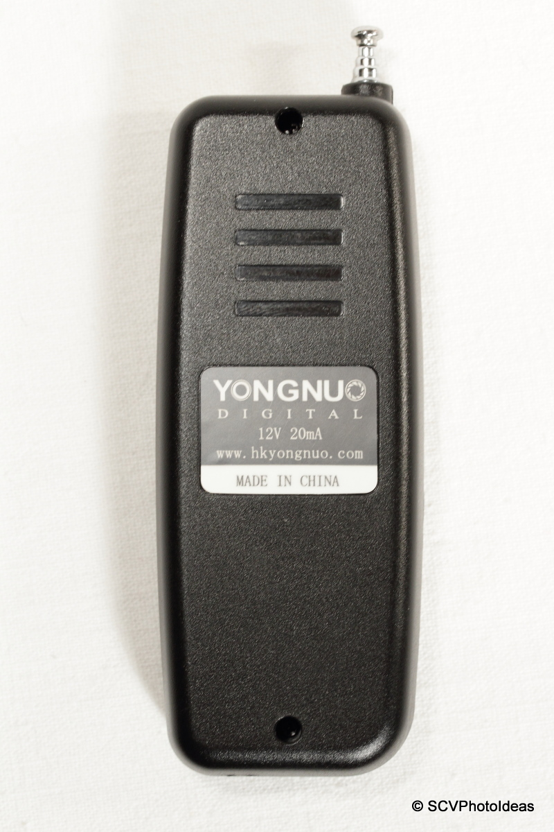 YongNuo WRS II C3 transmitter back-side
