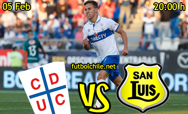 Ver stream hd youtube facebook movil android ios iphone table ipad windows mac linux resultado en vivo, online: Universidad Católica vs San Luis