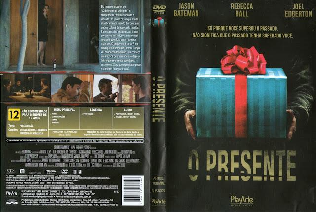 Capa DVD O Presente