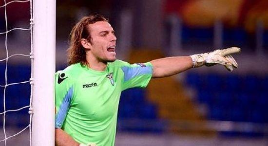 LAZIO, Marchetti infortunato durante Sampdoria Lazio.