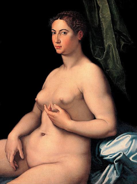 Girolamo Siciolante da Sermoneta: donna seduta
