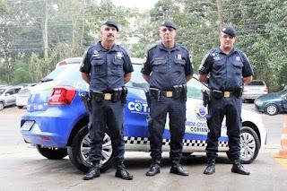 Policiamento da GCM garante segurança em Cotia