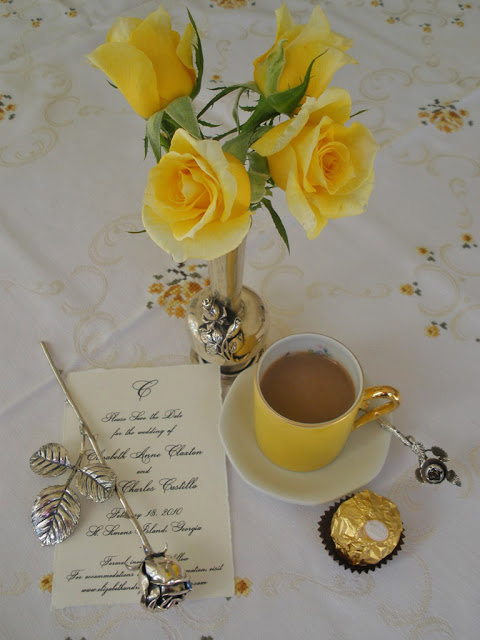 Mariette S Back To Basics Our Yellow Midas Touch Roses