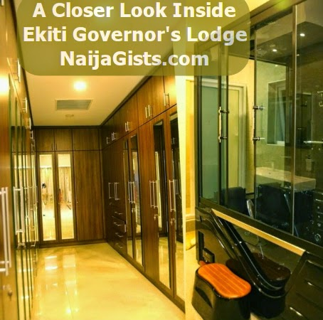 Photos A Closer Look Inside Ekiti State Governor S Lodge