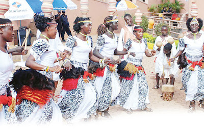 About the musical Ndere Troupe