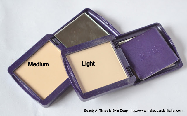 Oriflame the ONE Illuskin Compact Powder medium, Light