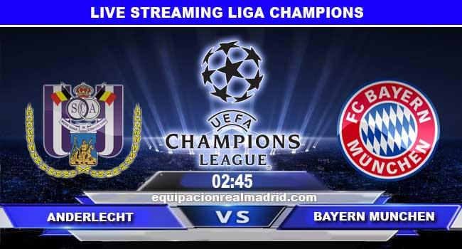 live streaming anderlecht vs bayern munchen 23 november 2017