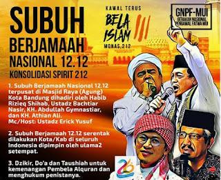 Umat Islam Bandung Raya Gelar Aksi 1212