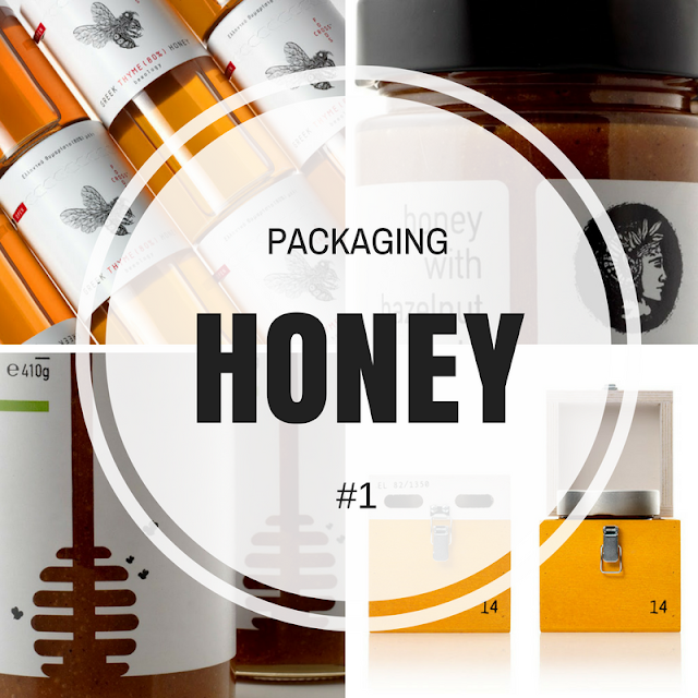 greek honey packaging, the round button blog