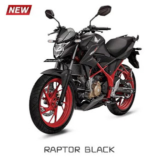 Honda All New CB150R Special Edition Raptor Black