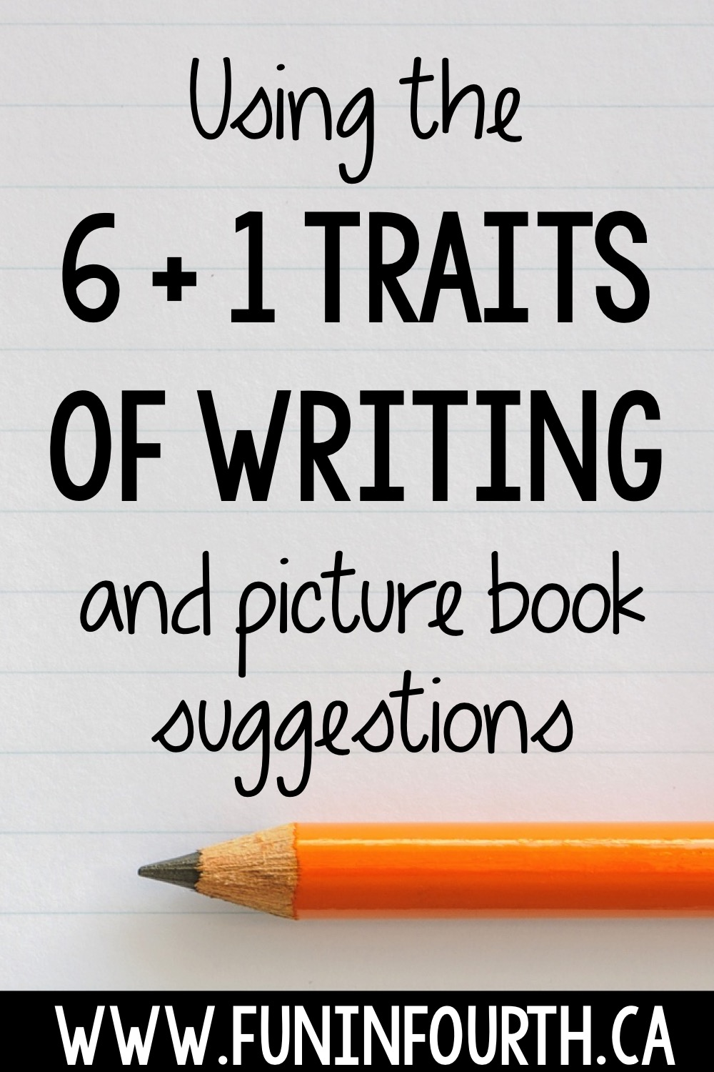 6 plus one traits of writing The 6 researched components of all good writing (ideas, organization, voice, word choice, sentence fluency, and conventions) need to be introduced in a kid-friendly way.